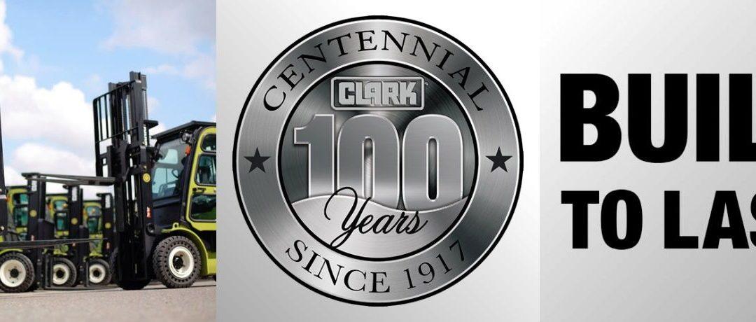 100 éves Clark targonca