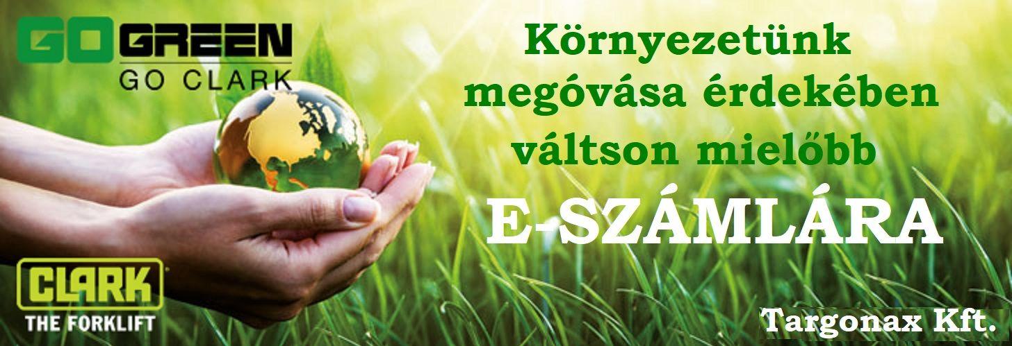 Óvjuk együtt környezetünket e-számlával!
