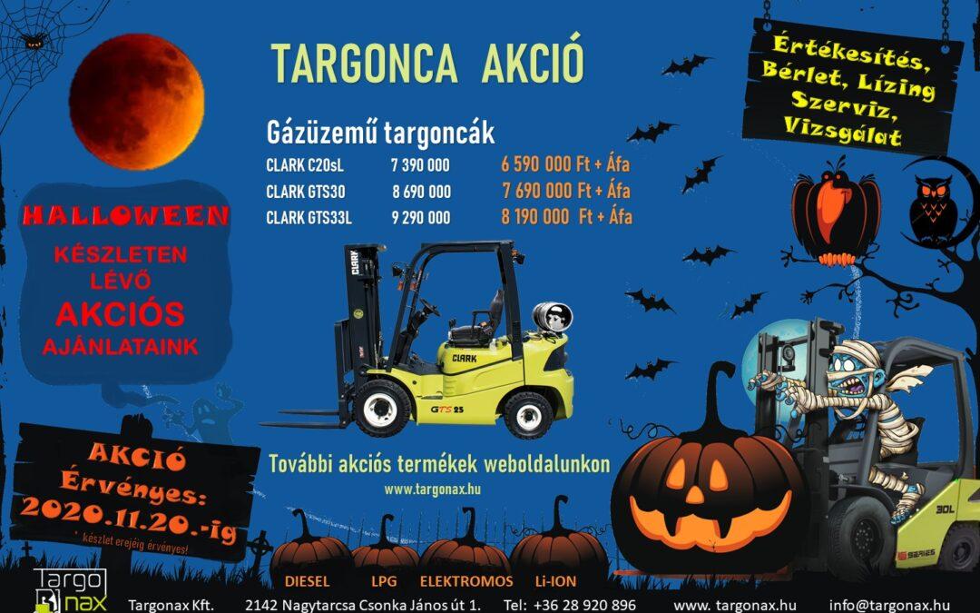 Halloween akció
